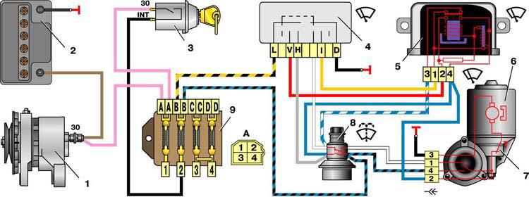 Замена генератора ваз 2101