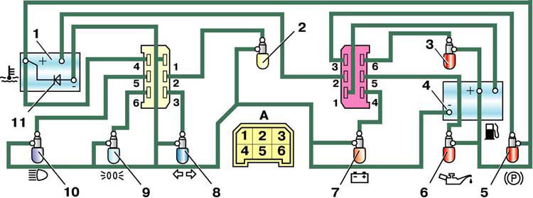 Электрическая схема соединений