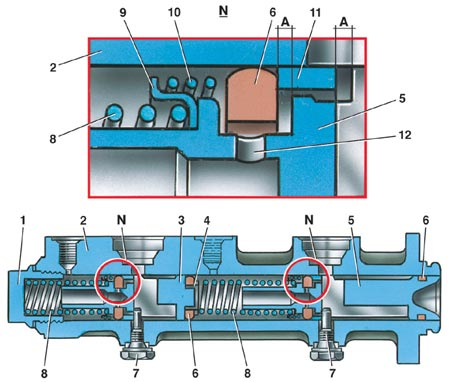схема генератора ниссан черри