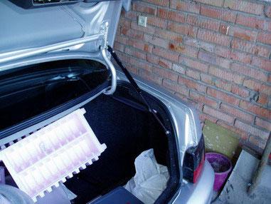 Как сделать на 2110 крышку багажника