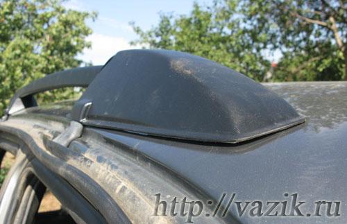 Установка рейлингов и багажника на Шевроле Нива (Chevrolet Niva)