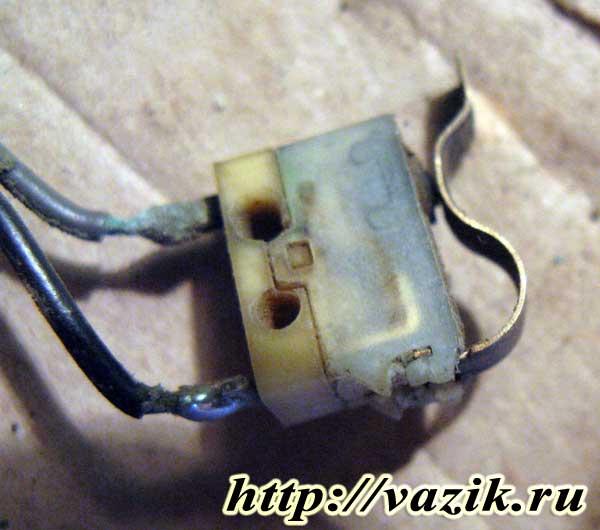 Ремонт подрулевого переключателя поворотников 2123-3709330