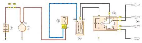 Электросхема генератора ваз 2106.