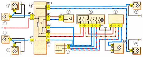 электрические схемы генераторов тойота