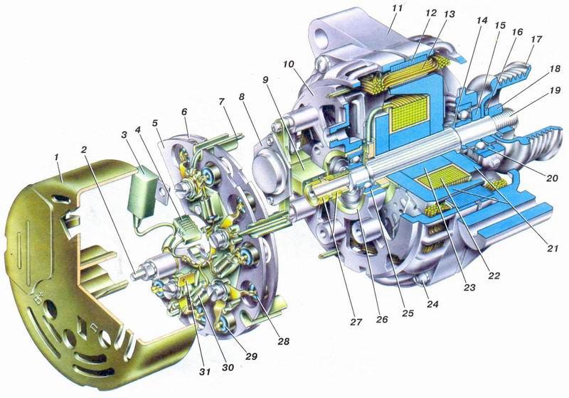 Фото №45 - как отремонтировать генератор на ВАЗ 2110
